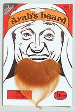 Brown Ginger Goatee Beard Arab Middle East Fancy Dress