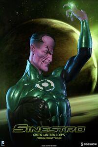 Sideshow Green Lantern Corps SINESTRO Premium Format Figure Limited 350 NIB DC