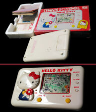 TENNIS SCHOOL HELLO KITTY GAME & WATCH LCD Handheld Tested Complete