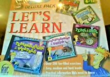 Let's Learn Deluxe 5 Pack Practical information kids need to know Windows/Mac