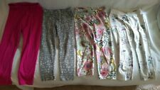 Toddler Girl's Leggings Stretch Pants Size 5 Lot of 4 Baby Gap & Jumping Beans