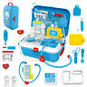 17PCS Medical Kit Doctor Nurse Dentist Pretend Roles Play Toy Set Kids Game Toy