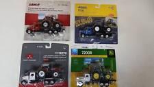 John Deere Case IH New Holland & Massey Ferguson Peterbilts with 4- Tractors New