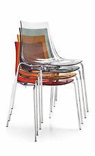 Calligaris Connubia Stuhl Led 1298-I stapelbar in vielen Farben erhältlich