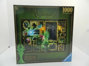 Disney Ravensburger Villainous Maleficent 1000 Piece Puzzle Jigsaw NEW
