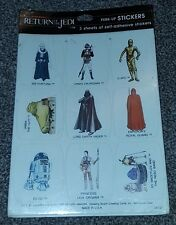 Vintage Star Wars - Return of The Jedi (1983) Sealed Perk-Up Sticker Pack