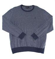 Polo Ralph Lauren Mens Sweaters Blue Size Big 3X Big&Tall Crewneck $125 105