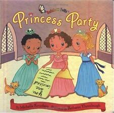 Princess Party by Lindsay Camp and Michelle Knudsen (2003, Board Book)