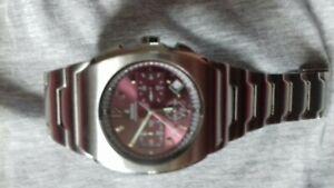 Mens festina chronograph watch