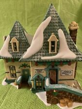 Dept 56 Heritage Village Elsie'S Gingerbread #56398 With Smoking Chimney Mib
