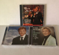 Barry Manilow Lot of 3 CD's in Collection