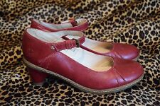 Dr Martens ox blood mary jane court shoes