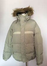 ONEIL FREEDOM LIGHT GREY PADDED DOWN SKI/ SNOWBOARD JACKET SIZE L