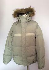 ONEIL libertà grigio chiaro imbottito giù giacca da sci/snowboard taglia L
