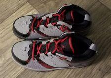 Jordan 2.5 Boys Gray Red Black Retro Sneaker Shoes