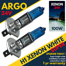 H1 24v 100w Xenon Super Bright White Light Bulbs Daf Cf 65 75 85  Hid Upgrade