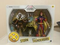 Marvel Legends X-Men Storm & Thunderbird Target Exclusive 2 Pack New