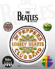 BEATLES AUFKLEBER SET / VINYL STICKER BUNDLE # 26 SGT. PEPPERS LONELY HEARTS