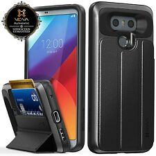 Vena [vCommute] for LG G6 Premium [Leather] Cover Wallet Card Slot Case Stand