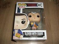 Stranger Things Eleven with Eggos Vinyl Figure Funko Pop Nr. 421 NEU
