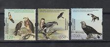 Birds Armenia Karabakh MNH** 2015 Mi.101-03  Rare Birds Eagle Karabakh