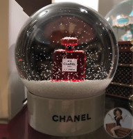 *new Chanel Snow Globe Red No.5 Perfume +Box: 20yr Trusted USA Seller Authentic!
