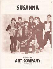 PARTITION   ART COMPAGNY *SUSANNA*