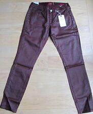 Lucky Brand W's Sz 6/28 Charlie Super Skinny Jeans 7WD10031 Shiny Brown $119NWT