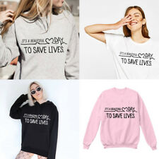 It's a Beautiful Day To Save lives Grey's Anatomy T-shirt Hoodie Sweatshirt Tops