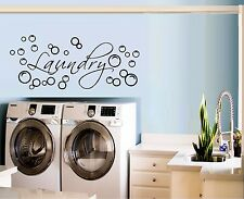 Laundry with Bubbles