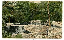 Mifflinburg PA -THE INTAKE AT MIFFLINBURG'S WATER PLANT- Handcolored Postcard
