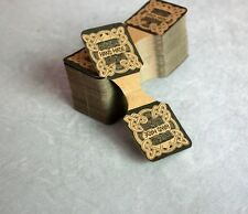 Handmade Jewelry Card Tags Vintage Paper 100 Pieces Packaging Jewelries Supplies