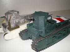 Char (tank) Mk.A Whippet  ww1 (1/48)  metal/resine