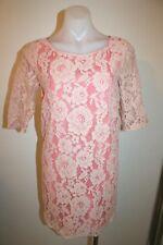 MAX & CO. peach lace shift dress - size 4, AU 8, $399 NEW !
