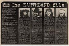 Manfred Mann's Earthband UK Band File