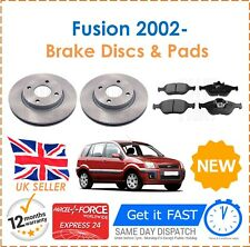 For Ford Fusion 1.4 16V 1.4 TDCi 1.6 1.6 TDCi 2002- Front Brake Discs & Pads