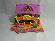 Vintage 1994 Bluebird Polly Pocket Horse / Ranch House - Lights Working