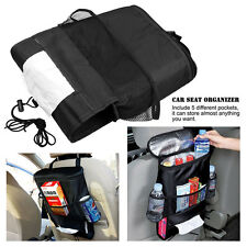Car Auto Seat Back Multi-Pocket Storage Bag Tidy Organizer Travel Tissue Holder