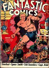 Fantastic Comics #1 Golden Age Fox 1.0