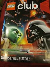 LEGO CLUB MAGAZINE MAY JUNE 2014 LEGO STAR WARS CHOOSE YOUR SIDE BRAND NEW