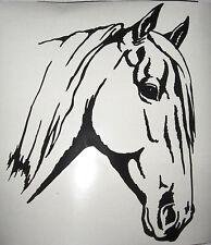 WINDOW, CAR, VEHICLE, TRAILER, NOBLE HORSE VINYL DECAL