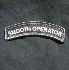 SMOOTH OPERATOR TAB TACTICAL INFIDEL BLACK OPS SWAT VELCRO® BRAND FASTENER PATCH