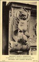 Skulptur Büste Kunst Motivkarte Postcard AK um 1910 Engel In Pietra Serena
