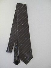 Men's Tie Marc Jacobs Brown Tiny Flowers MJ made Italy