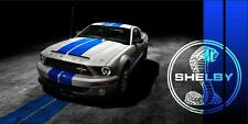 FORD-Mustang-Shelby-Cobra-GT500-Muscle-Car-Auto-Garage-Shop-Vinyl-Banner-Sign