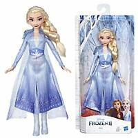 Disney Frozen Elsa Fashion Doll With Long Blonde Hair and Blue Outfit Inspired