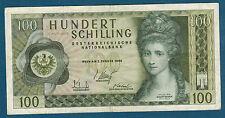 AUTRICHE - 100 SCHILLING Pick n° 145a. du 2-1-1969. en TTB   Z 821791 P