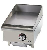 STAR-MAX COUNTERTOP 15IN MANUAL GAS GRIDDLE - 615MF