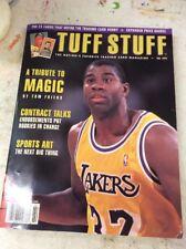 Tuff Stuff basketball magazine price guide Magic Johnson February 1993
