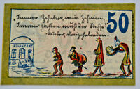 ENNIGERLOH NOTGELD 50 PFENNIG 1921 EMERGENCY MONEY GERMANY BANKNOTE(S) (5727)